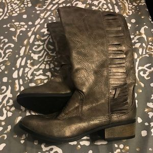 Girls Stevie's cowboy boots size 6 new